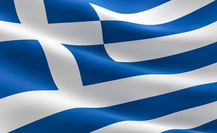Griechenlandflagge